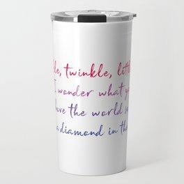 Twinkle Twinkle Little Star Baby Room Travel Mug