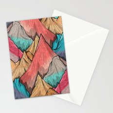 Mountain Layers Stationery Cards