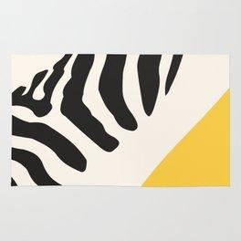 Zebra Abstract Rug