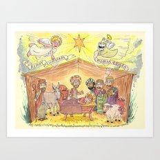 Merry Christmas from EEGRA Art Print