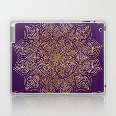Gold Mandala Laptop & iPad Skin
