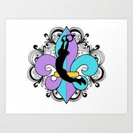 KJax 2014 Logo Art Print