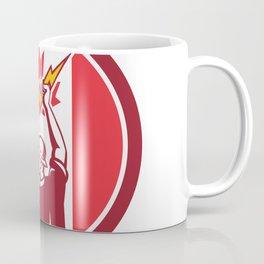 Canadian Electrician Lighting Bolt Canada Flag Icon Coffee Mug