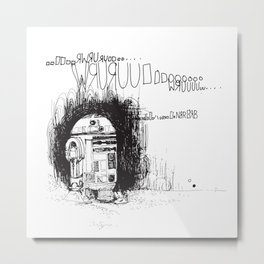 R2D2 Metal Print