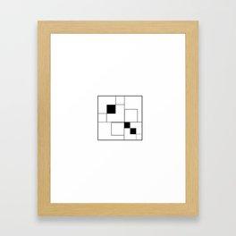 Everydaygeometric - Day Twelve - Framed Art Print