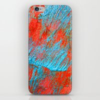 coral iPhone & iPod Skins featuring Coral  by haroulita