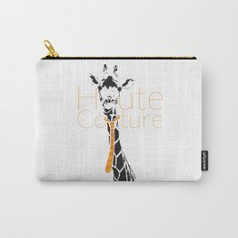 Haute couture, girffe Carry-All Pouch