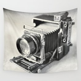 Grafflex Camera Tintype Wall Tapestry