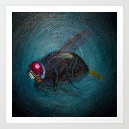 Dead Fly Art Print