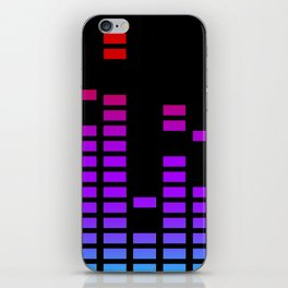 Equalizer bars in RGP iPhone Skin