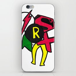 Young Justice iPhone Skin