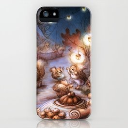 The Acorn Festival iPhone Case