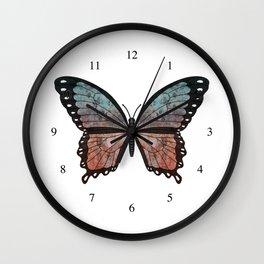 teal aurora megara (Megara teling aurora) Wall Clock