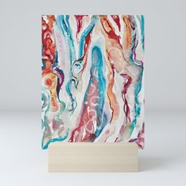 Geode Watercolor Mini Art Print