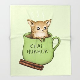Chaihuahua Throw Blanket