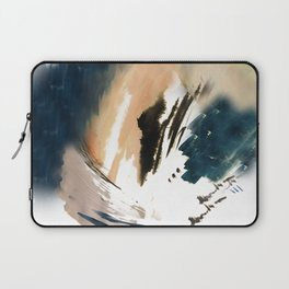 Twilight Wandering - a watercolor and ink abstract  Laptop Sleeve