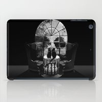 ali iPad Cases featuring Room Skull B&W by Ali GULEC