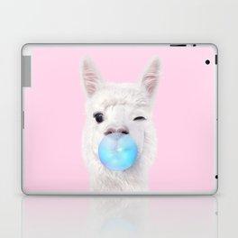 BUBBLE GUM LLAMA Laptop & iPad Skin