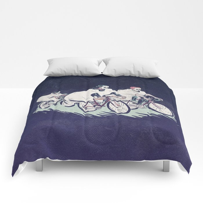 Ghost Race Comforters