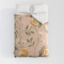 Elderflower & Oranges - Pastel Comforters