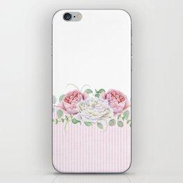 Peonies and Roses iPhone Skin