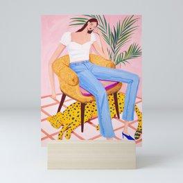 Bohemian Pink Room Mini Art Print