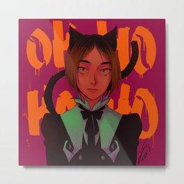 OHOHOHO (Kenma ver) Metal Print