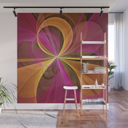 Luminous Colors, Abstract Fractal Art Wall Mural