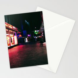 Cyberpunk Nights Stationery Cards