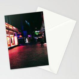 Cyberpunk Nights Stationery Cards