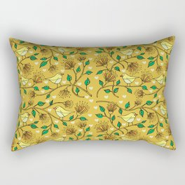 Birds pattern II Rectangular Pillow
