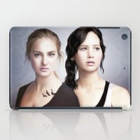 divergent iPad Cases featuring The Divergent Games by Clara J Aira