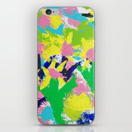 Impressionistic Daisies in the Garden iPhone Skin