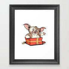Gizmo Gift Framed Art Print