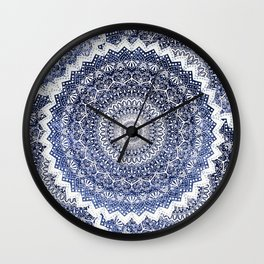 COLD WINTER MANDALAS Wall Clock