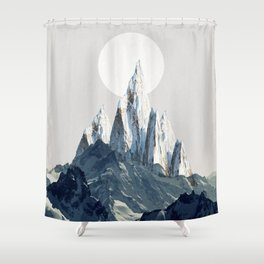 Full moon 2 Shower Curtain