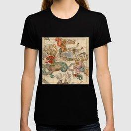 Star Atlas Vintage Constellation Map Ignace Gaston Pardies T-shirt
