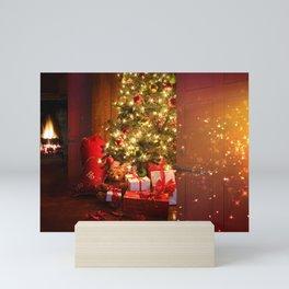 Holiday Christmas Christmas Ornaments Christmas Li Mini Art Print