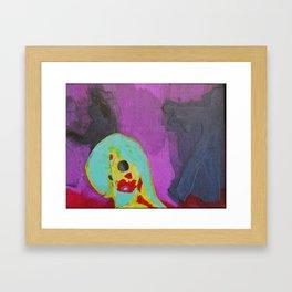 Living Dead Girl Framed Art Print