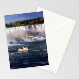 The Maid of the Falls Stationery Cards