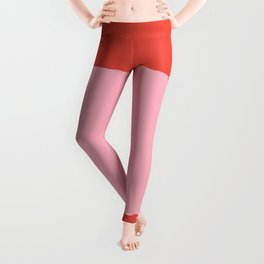 Crimson Swatch Leggings