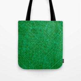 Scratched Green Tote Bag