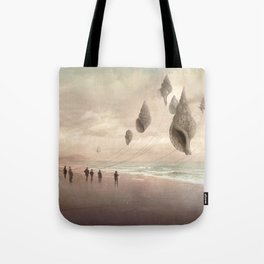 Floating Giants Tote Bag