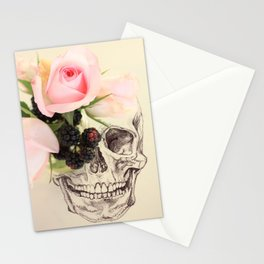 roses and blackberries Stationery Cards