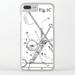 Inertial Mass Motion Clear iPhone Case