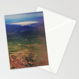 White Sands Aerial  Stationery Cards