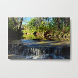 Reflections and the Falls Metal Print