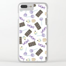 candys Clear iPhone Case