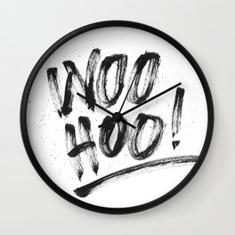 Woo Hoo! Wall Clock