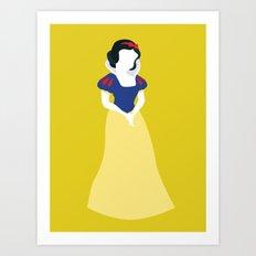 Princess Snow White Art Print